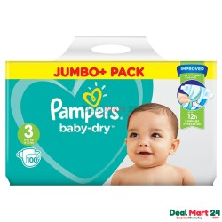 Pampers Baby Dry Size 3 Belt 6-10kg