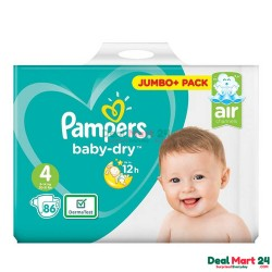 Pampers Baby Dry Size 4 Belt 9-14kg