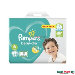 Pampers Baby Dry Size 6 Belt 13-18kg