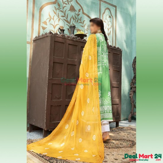 Gulzar Printed Unstitched Lawn Collection D-GN 02