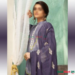 Gulzar Printed Unstitched Lawn Collection D-GN 03