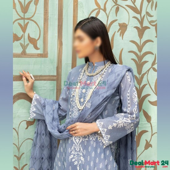 Gulzar Printed Unstitched Lawn Collection D-GN 06
