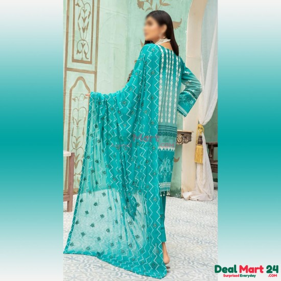 Gulzar Printed Unstitched Lawn Collection D-GN 08