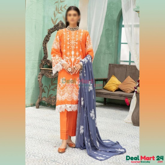 Gulzar Printed Unstitched Lawn Collection D-GN 09